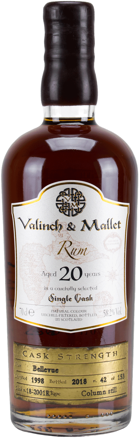Bellevue Valinch & Mallet Traditional Rum
