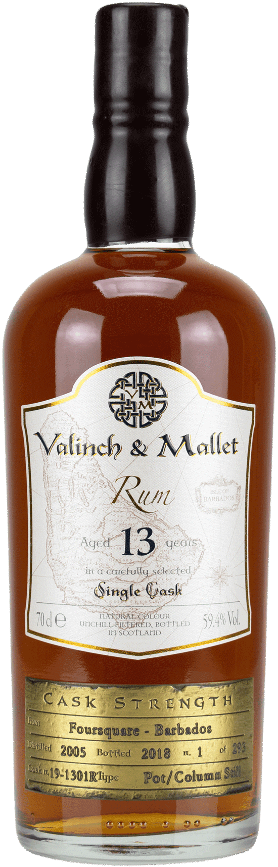 Foursquare 13 Valinch & Mallet Single Blended Rum