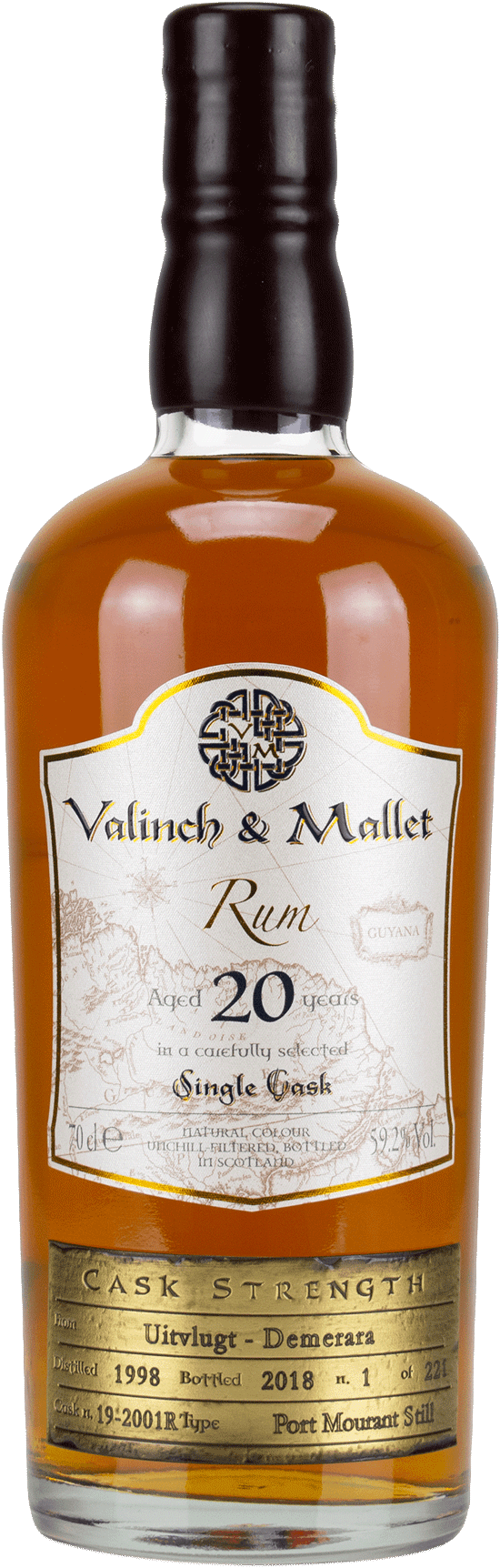 Uitvlugt 20 Valinch & Mallet Pure Single Rum