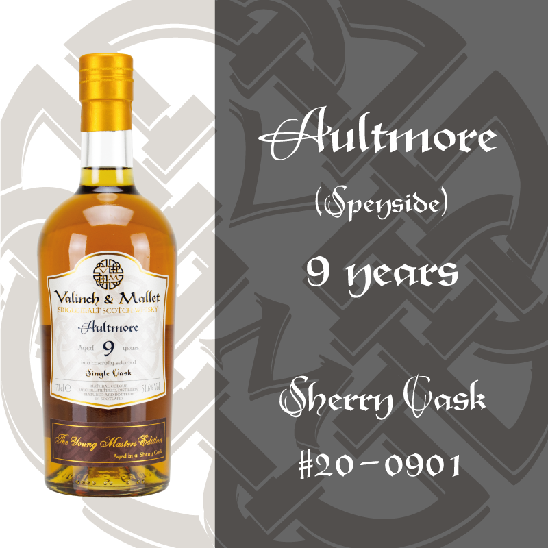 Aultmore 9 Valinch & Mallet