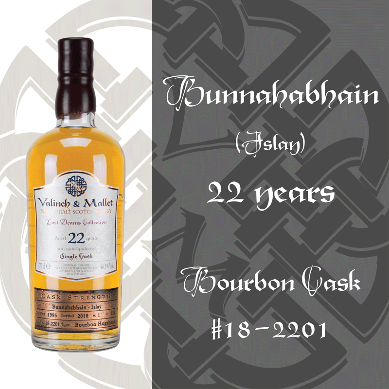 Bunnahabhain 22 Valinch & Mallet Single Malt Scotch Whisky
